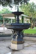 Image for Lion Fountain -- Wilson Block Park, Dallas TX