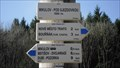 Image for Direction and Distance Arrows - Pod sjezdovkou, Mikulov, Czech Republic