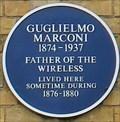 Image for Guglielmo Marconi - Harpur Street, Bedford, UK