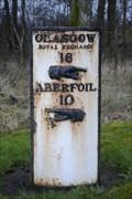 "Image for Glasgow to ""Aberfoil"" Milestone, A81 Near Killearn."