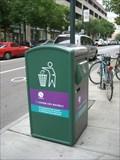 Image for Solar Powered Trash Can - Philadelphia, PA