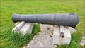 Image for York Redoubt Lone Cannon Display - Halifax, NS