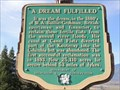 Image for A Dream Fulfilled -- BC Hwy 3A, near Wynndel BC CAN