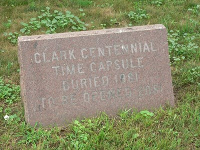 Centennial Time Capsule in Clark, SD