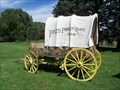 Image for Pikes Peak or Bust Covered Wagon - Rock Ledge Ranch, Colorado