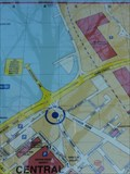 """Image for North Parade """"You Are Here"""" map – Bradford, UK"""