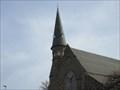 Image for Lightning Strikes Church Spire - St. Stephen's & West Church.