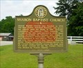 Image for Sharon Baptist Church-GHM 036-5-Columbia Co