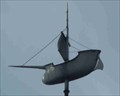 Image for Galleon Weathervane, St James, Callow End, Worcestershire, England