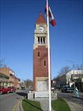 Image for Town Clocks - Cenotaph - Niagara-on-the-Lake, ON.
