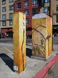 Image for Plum Blossoms-Power Pole - Berkeley, CA