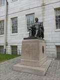 Image for John Harvard Statue of Three Lies - Cambridge, MA