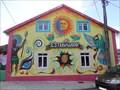 Image for Estravagario - Ethnic Mural  (Marinha Grande, Portugal)