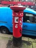 Image for Victorian Pillar Box - Preston Road - Brighton - East Sussex - UK