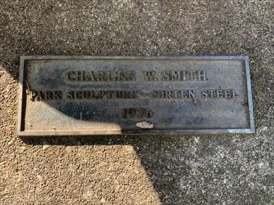 Park Sculpture Plaque, Seattle, WA