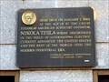 Image for Nikola Tesla Died Here - New York, NY