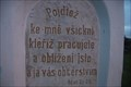 Image for Citat z bible - Mat.XI.28. - Moutnice, Czech Republic