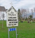 Image for Church of the Holy Spirit - 1845 - Lakelands, NS