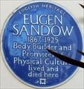 Image for Eugen Sandow - Holland Park Avenue, London, UK