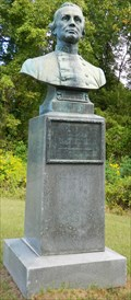 Image for Brigadier General States Rights Gist Bust - Vicksburg National Military Park