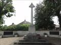 Image for World War I Memorial Cross - Brough, UK