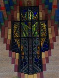 Image for Fidelity - Guardian Building Elevator Lobby Stained Glass - Detroit, Michigan