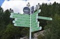Image for Poteau indicateur de direction - Manic 5, Québec