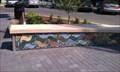Image for Ashland Plaza Mosaic Benches - Ashland, OR