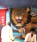 Image for Durga Mandir Murals - Varanasi, Uttar Pradesh, India