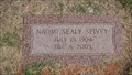 Image for 101 - Naomi Sealy Spivey - Rose Hill Burial Park - OKC, OK