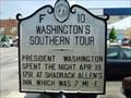 Image for Washington's Southern Tour  -  F-10
