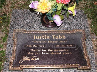 Justin Tubb Grave Of A Famous Person On Waymarking Com