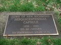 Image for Sesquicentennial Time Capsule - New Richmond, IN