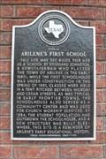 Image for Site of Abilene's FIRST School - Abilene, TX