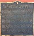 Image for Odeon Saloon - Billiard Parlour, Dayton Lodge No. 5, I.O.O.F. — Dayton, NV