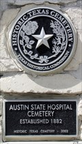 Image for Austin State Hospital Cemetery