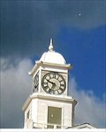 Image for Courthouse Clock - Double Springs, AL