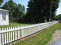 Image for Underground Railroad Memorial House fence - Schoolcraft, MI