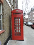 Image for Red Telephone Box - Chelsea Manor Street, London, UK