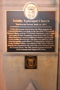 Image for Trinity Episcopal Church-Territorial Period, Built ca. 1831