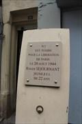 Image for Roger Sejournant Memorial - Paris, France