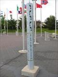 Image for Keeling-Puri Peace Plaza Peace Poles - Rockford, IL