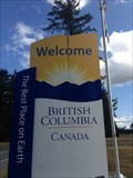 Image for Welcome to British Columbia, Canada
