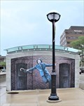 Image for Singing in the Rain - Mural - Ann Arbor, Michigan, USA.