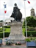 "Image for ""Souvenir Francais"", Worldwar I monument in Honfleur, France."