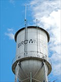 Image for Browning Municipal Water Tower - Browning, MT