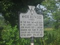 Image for Where Booth Died - Fort A.P. Hill, VA