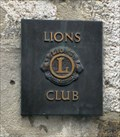 Image for Lions Club Marker at the Bischofshof  - Bavaria / Germany