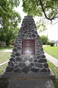 Image for Ft. Douglas Memorial Cairn -- Higgins at Maple St, Winnipeg MB