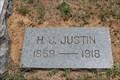 Image for H.J. Justin - Nocona Cemetery - Nocona, TX